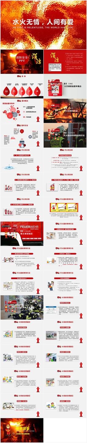 框架完整消防安全培训PPT