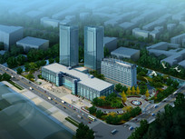 市政大楼设计效果图 JPG