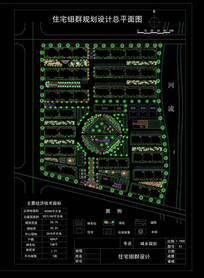 小区建筑设计CAD平面图
