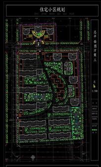 小区建筑设计CAD图纸