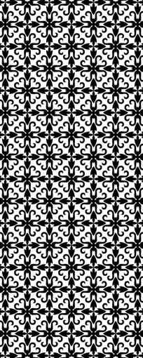 伊斯兰之花纹图案