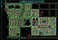 住宅区建筑总平面图 dwg