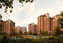 住宅区园林景观