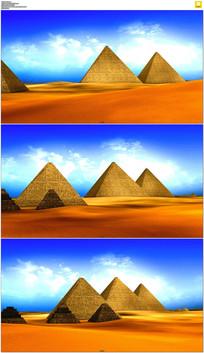 埃及金字塔视频素材