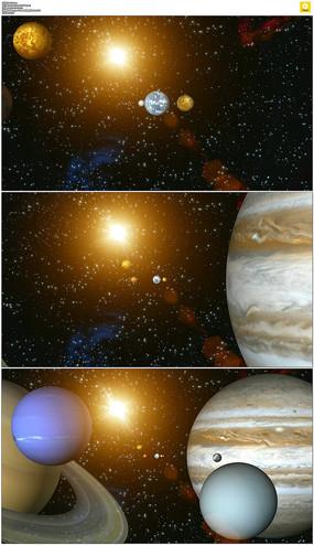 地球宇宙星球视频素材