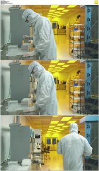 实验室工作实拍视频素材