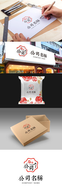 花型食品相关产业logo