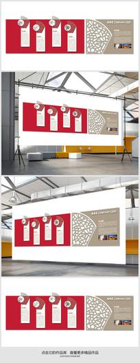 企业文化走廊形象展板