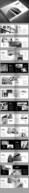 毕业设计建筑摄影作品集画册 AI