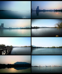 多种湖面和湖水视频