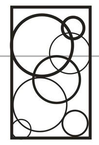 简单圆雕刻图案