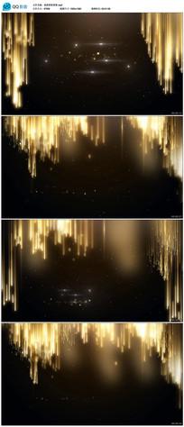 金色粒子光线颁奖背景视频素材