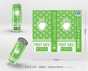 苹果果汁包装