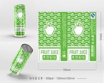苹果果汁包装 AI