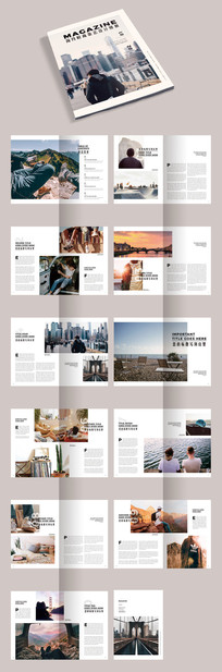 摄影企业公司作品集画册宣传册
