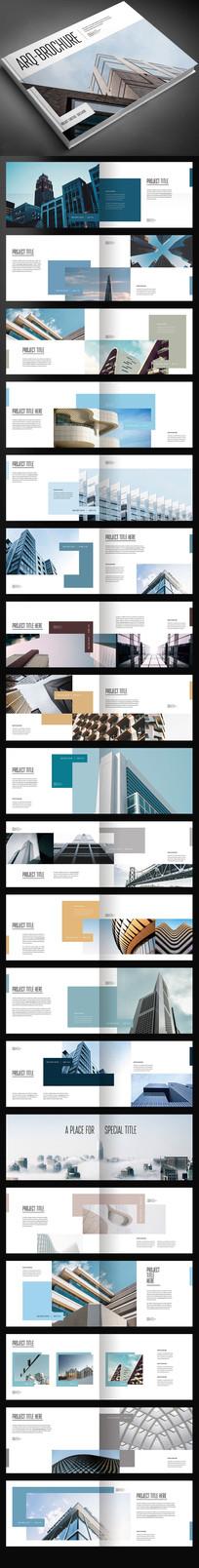 摄影设计作品集画册宣传册模板