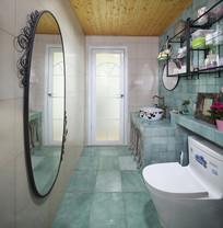 现代简约时尚卫浴间