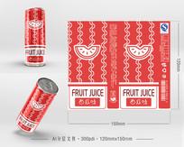 西瓜果饮包装 AI
