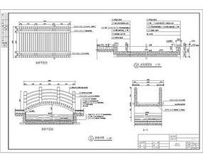 木质拱桥详图