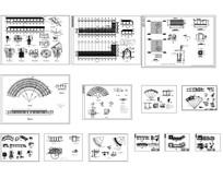 园林设计常用廊架CAD资料