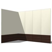 L型壁板模型