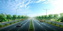 道路景观设计 JPG