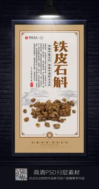 大气铁皮石斛中医文化展板