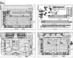 地下商场及宾馆施工图
