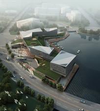 东钱湖服务中心建筑