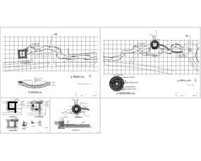 旱溪平面图