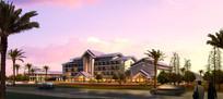 酒店建筑设计外观效果
