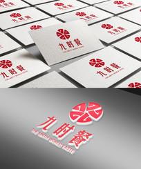 九时餐餐饮美食行业logo