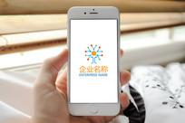 科技感分子意向logo