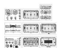 美食城建筑施工图