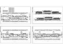 某商业街设计建筑图