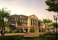 欧式别墅建筑效果