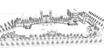 欧式商业建筑模型