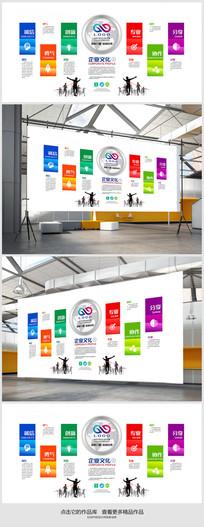 培训机构企业文化墙展板