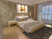 卧室 3dmax