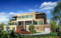 现代风格私家别墅设计效果图