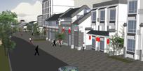 中式古典小镇商业街