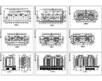 住宅区建筑施工图