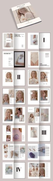 产品设计作品集画册宣传册