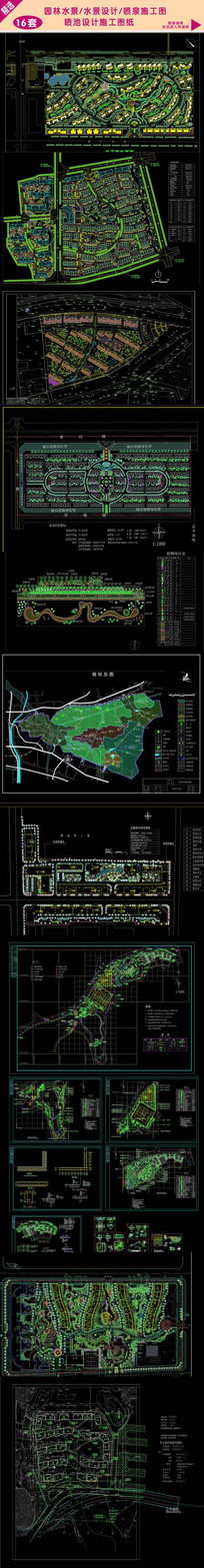 地产平面布置 地产规划图纸