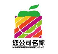 購物網站水果店商貿logo