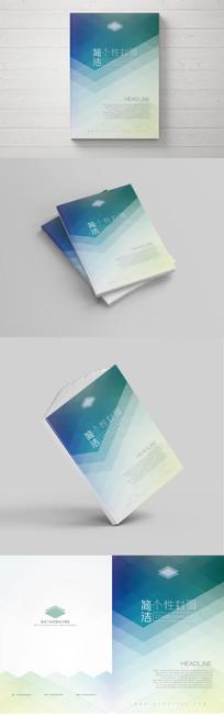 简洁清新个性封面设计模板