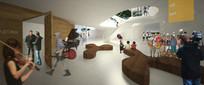 教育建筑室内开放活动空间