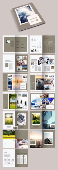 企业产品文化画册宣传册模板
