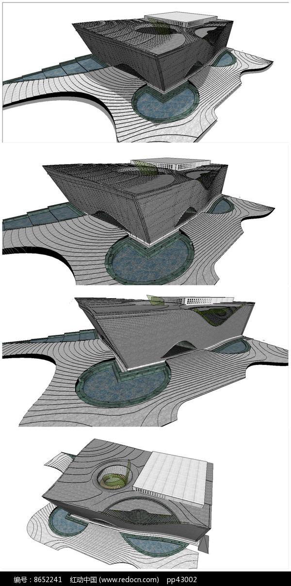 西安音乐学院音乐厅建筑设计图片