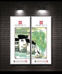 新中式禅境水墨装饰画